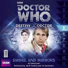 DOCTOR WHO DESTINY OF THE DOCTOR SMOKE AND MIRRORS CD cover AUDIOGO