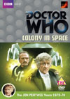 DOCTOR WHO COLONY IN SPACE DVD COVER