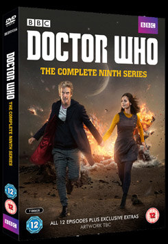 DOCTOR WHO THE COMPLETE NINTH SERIES BBC WORLDWIDE dvd boxset cover