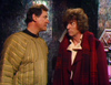 George Baker and Tom Baker in DOCTOR WHO FULL CIRCLE
